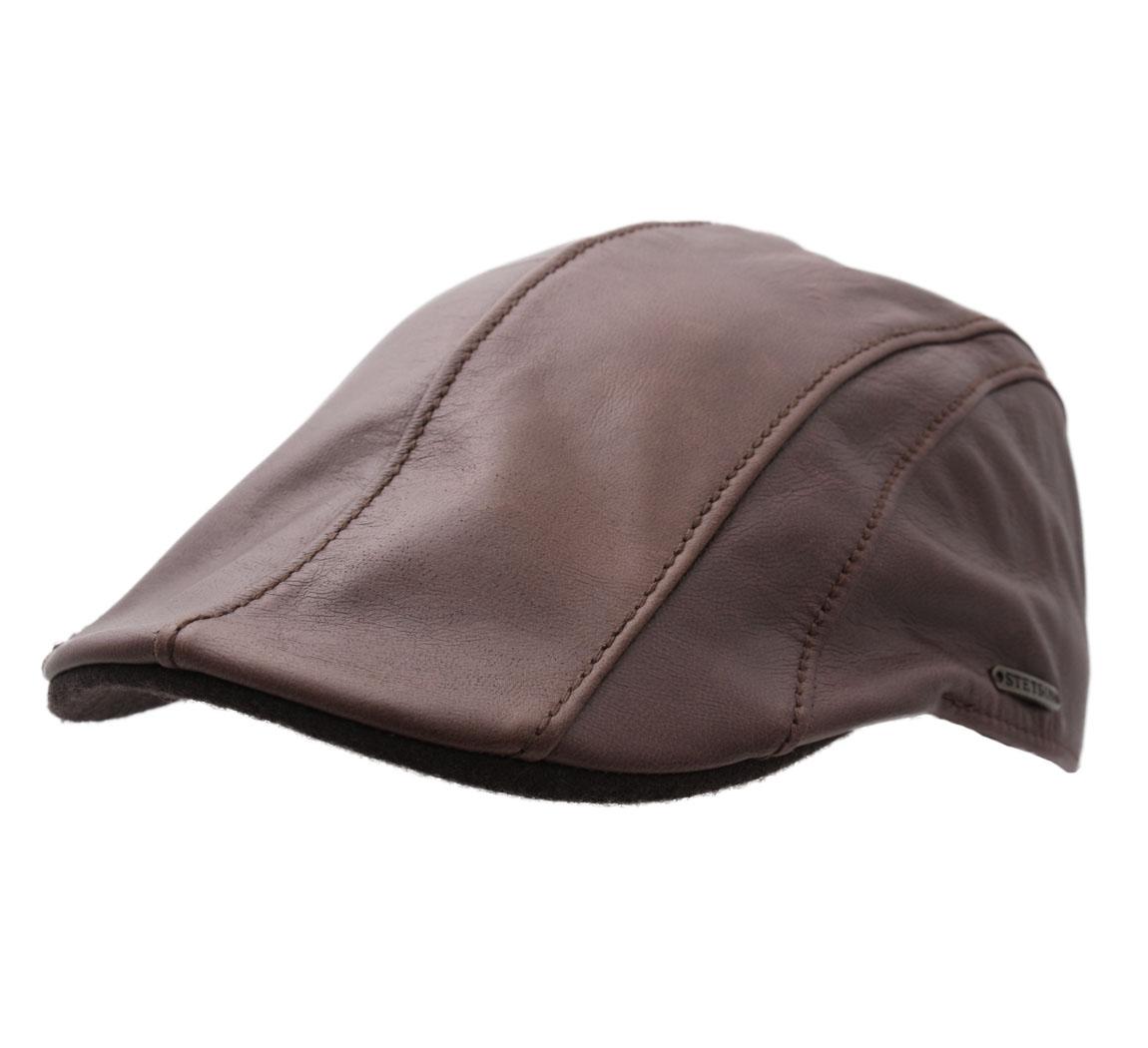b ret casquette plate cuir homme ou femme manatee goatskin ebay. Black Bedroom Furniture Sets. Home Design Ideas
