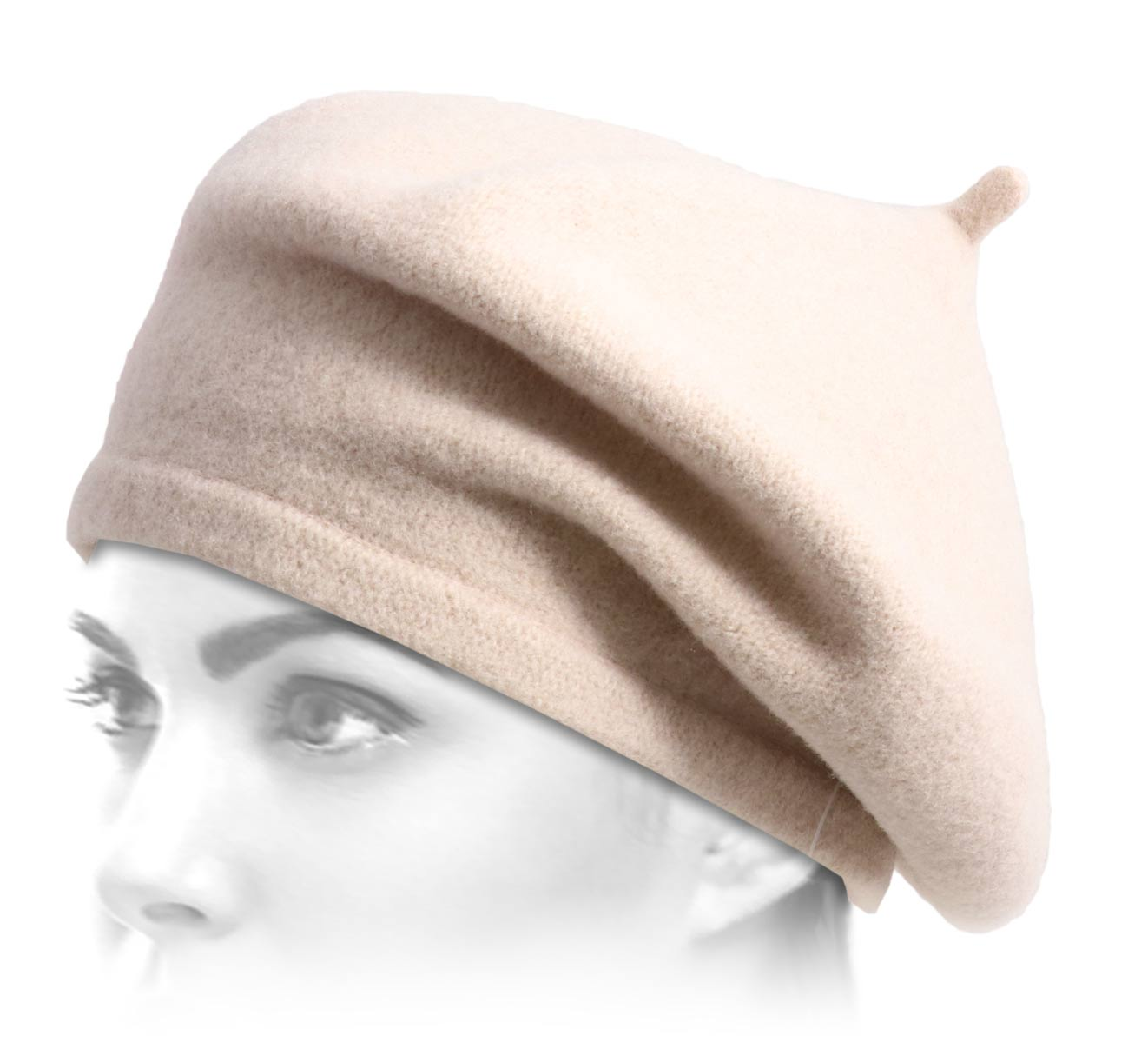 béret bonnet Woollen Conical