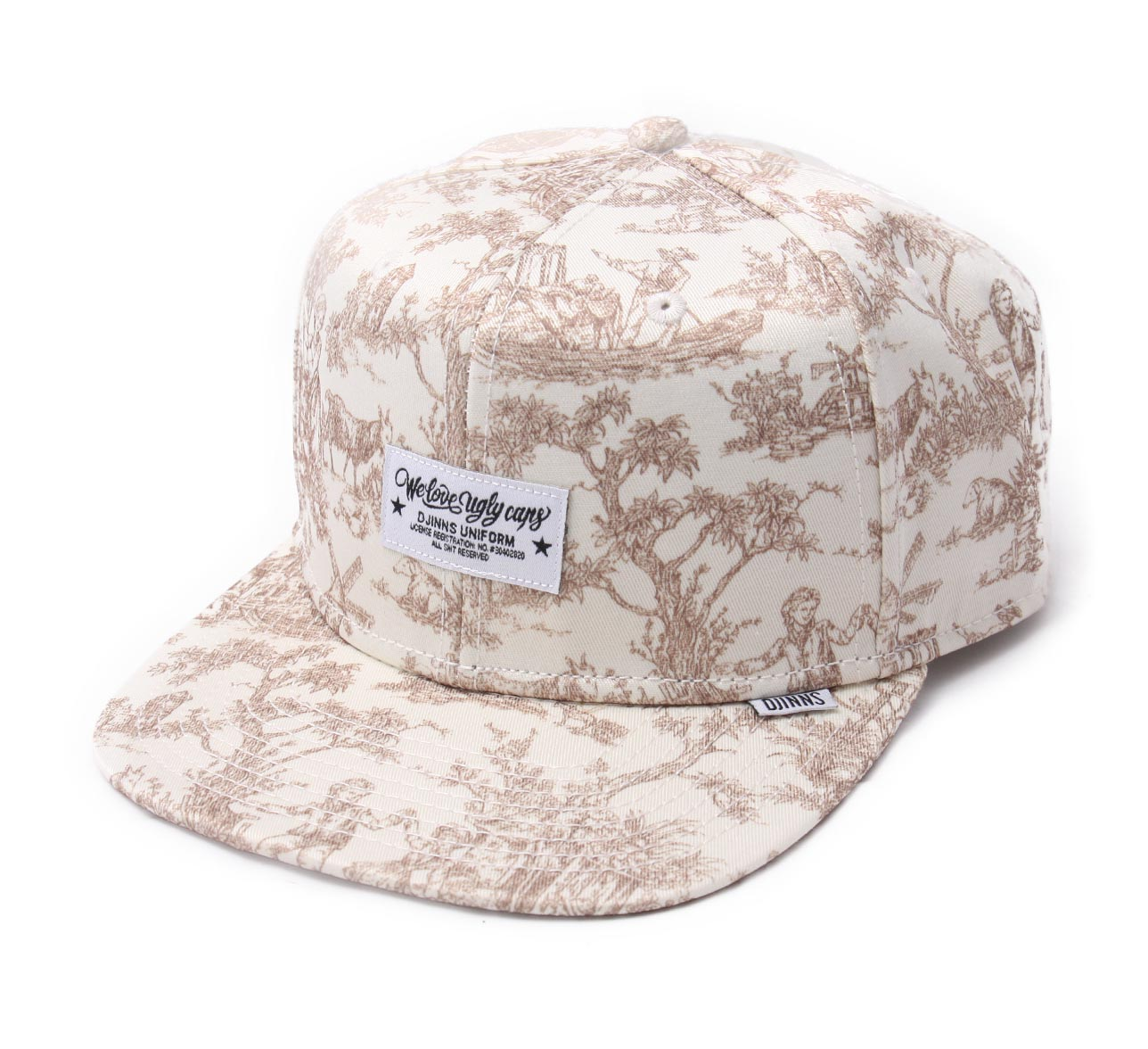casquette-baseball-djinns-toile-de-jouy We love Ugly