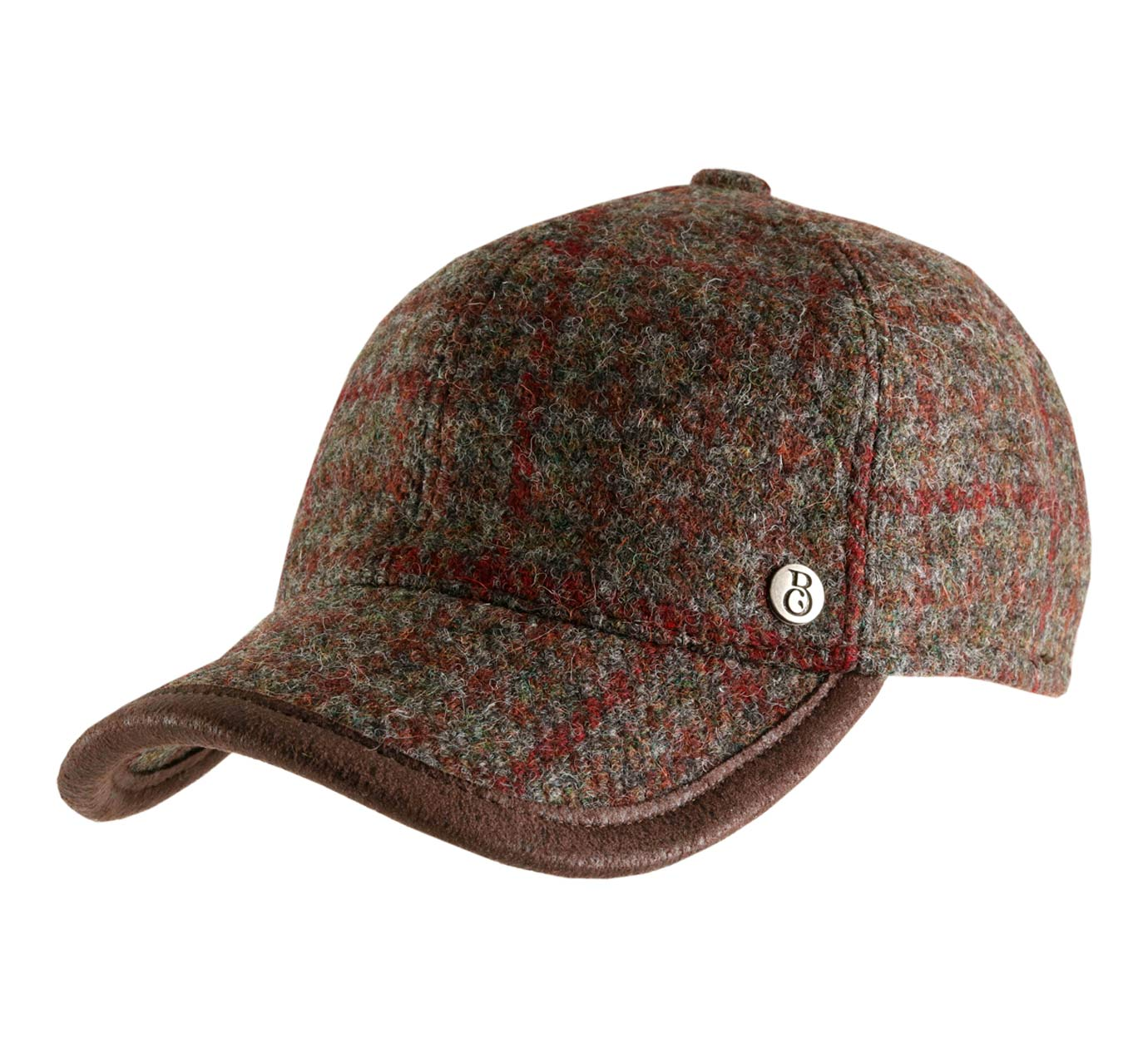 casquette baseball tweed