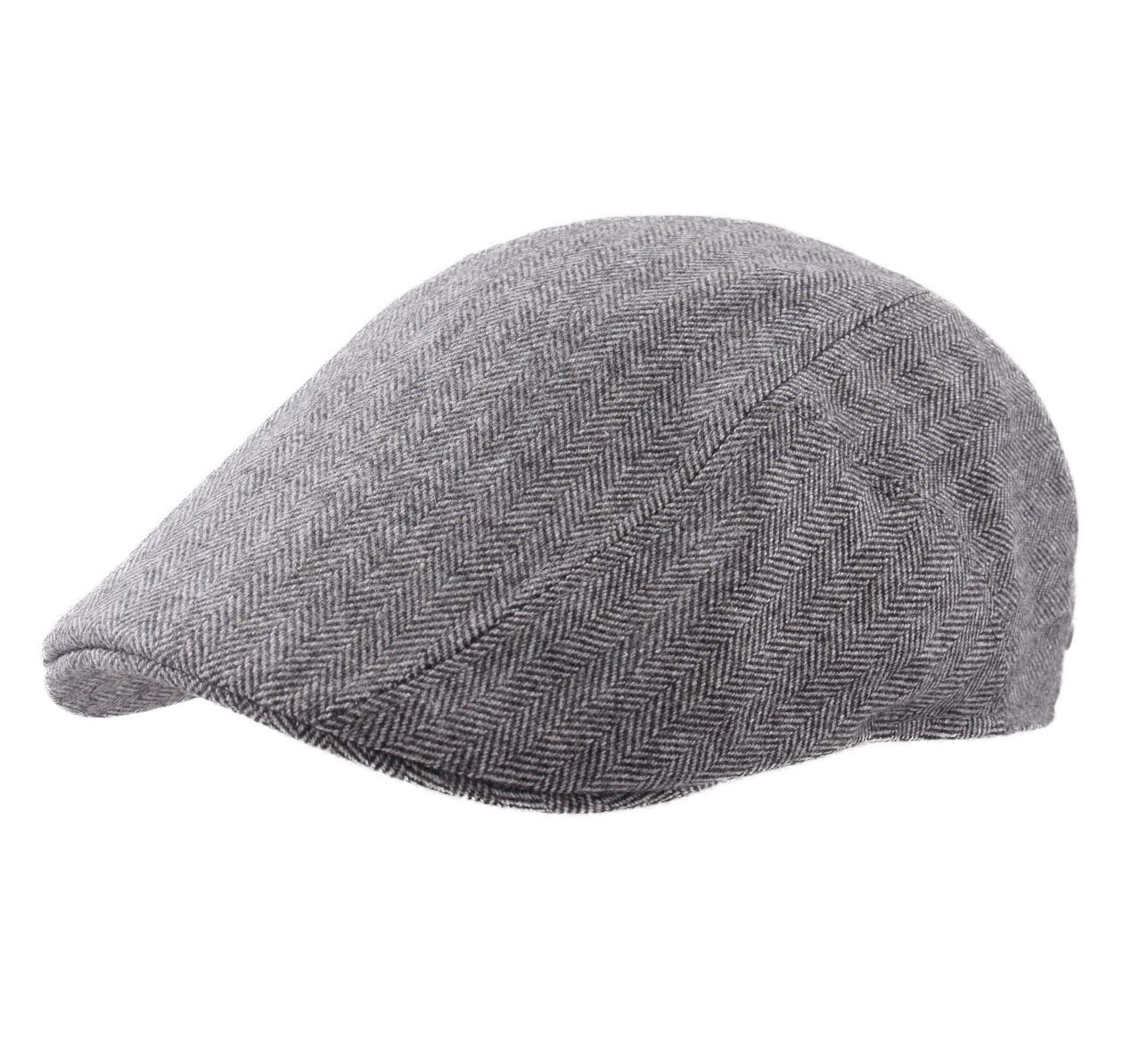 Beret-casquette-plate-homme-ou-femme-Ivy-Cap-Cashmere-gris-333