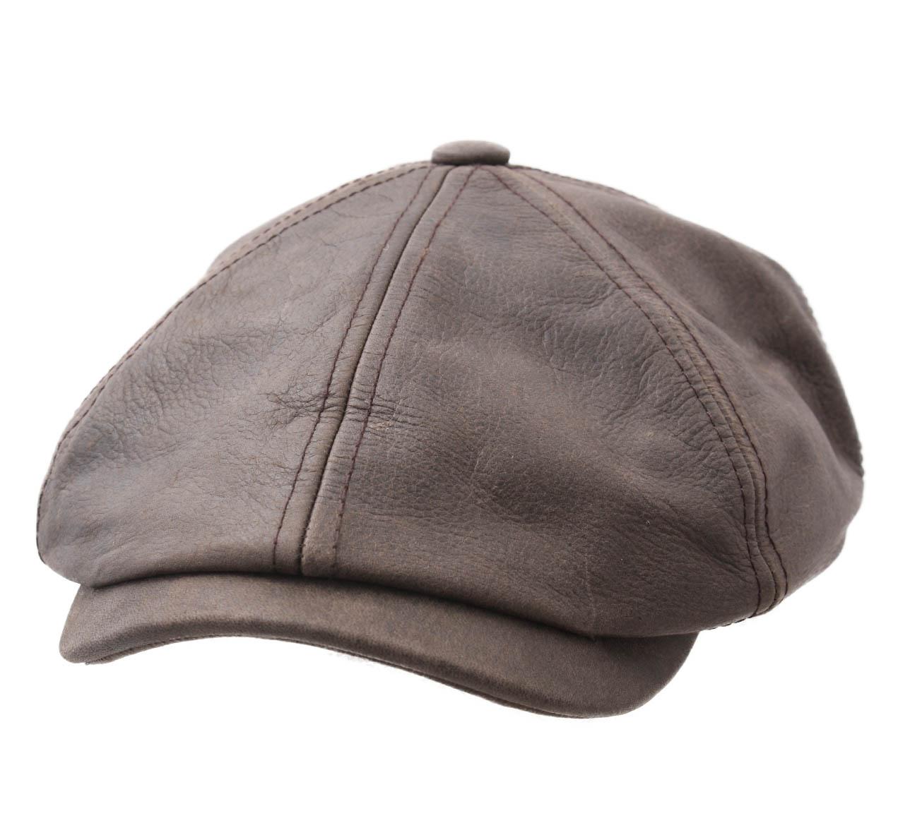 casquette hatteras cuir stetson cap cowhide casquette. Black Bedroom Furniture Sets. Home Design Ideas