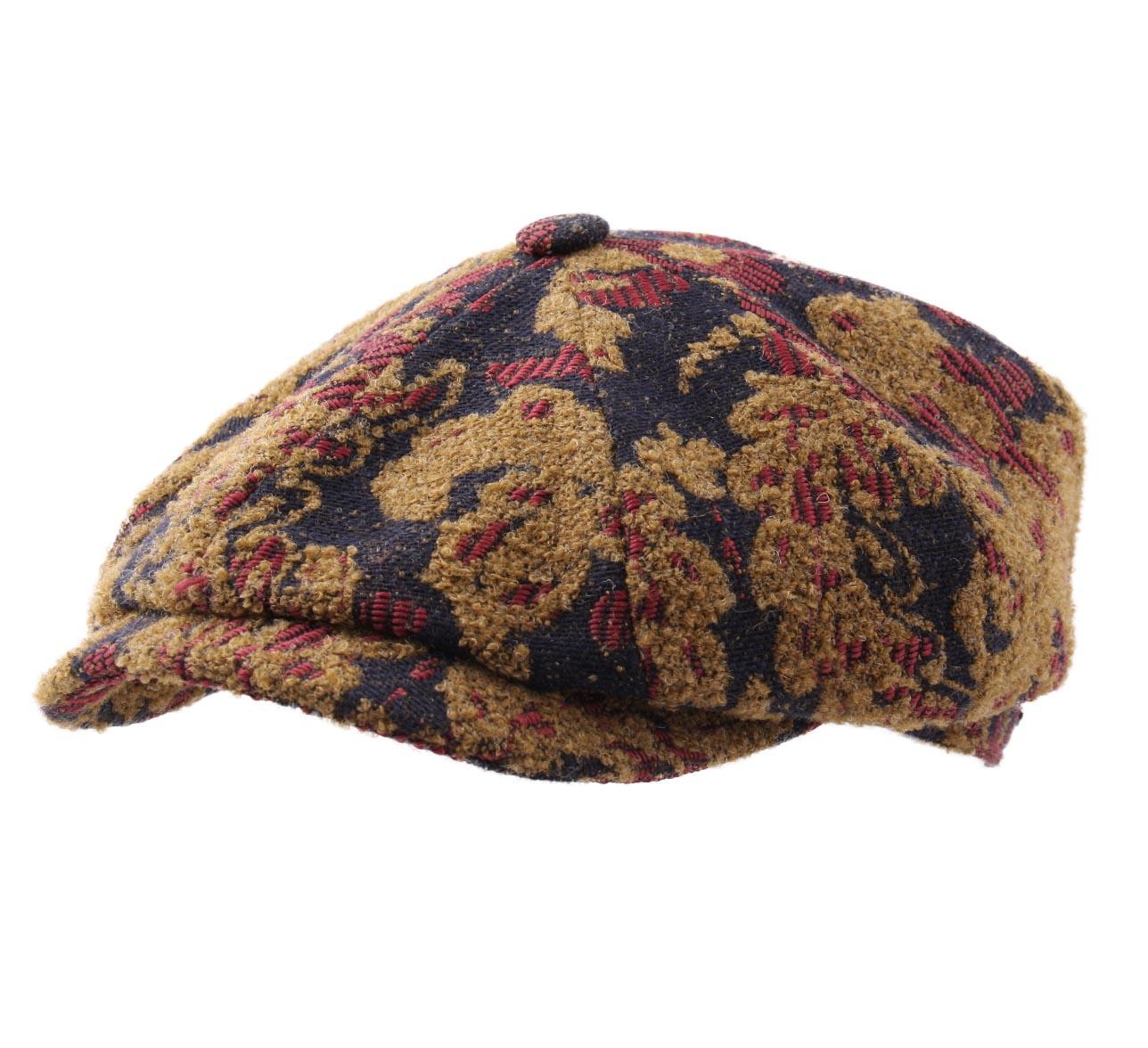 Beret-casquette-plate-homme-ou-femme-Hatteras-Ornament