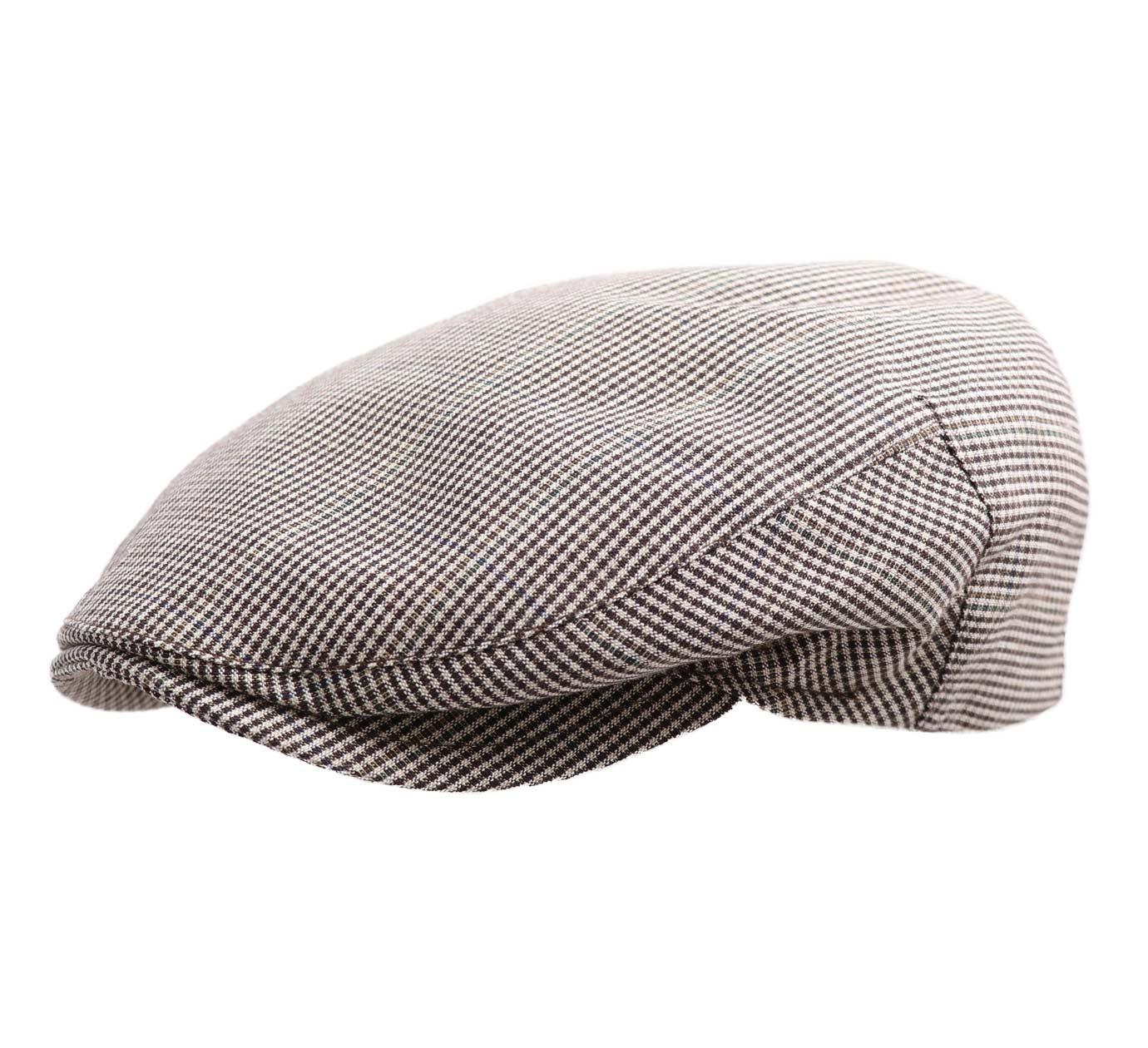 Béret casquette plate homme ou femme Mullen 17-gris