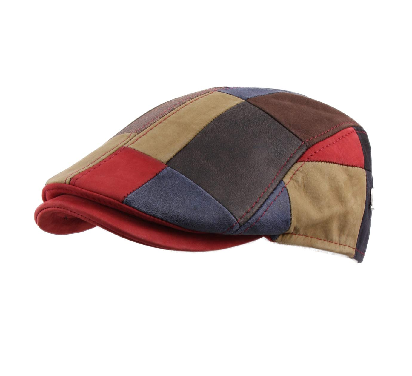 casquette patchwork cuir Fozzo