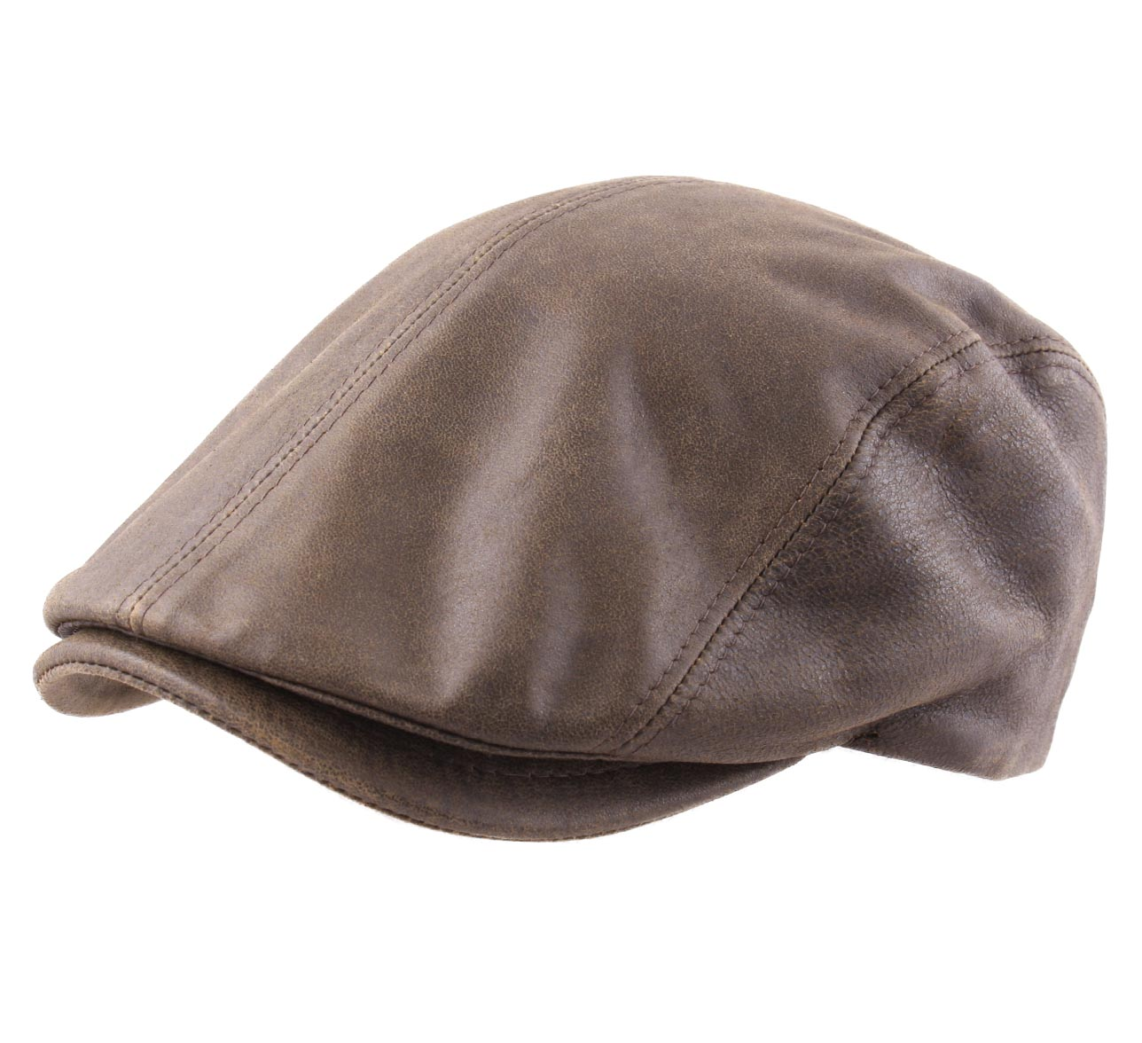 389ba4b01059a Beret-hat-flat-leather-man-or-woman-country thumbnail