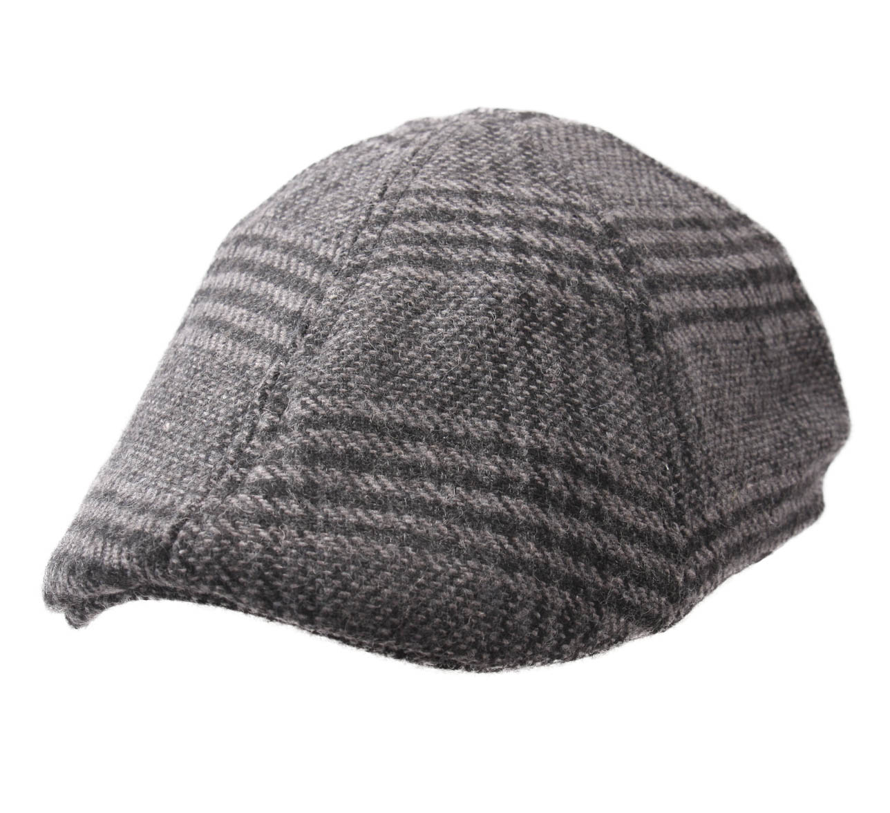 Casquette plate tweed Duck
